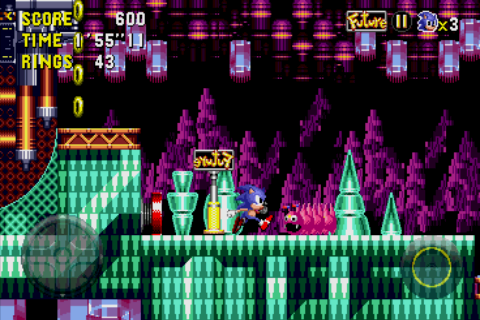 Sonic CD Android A time post