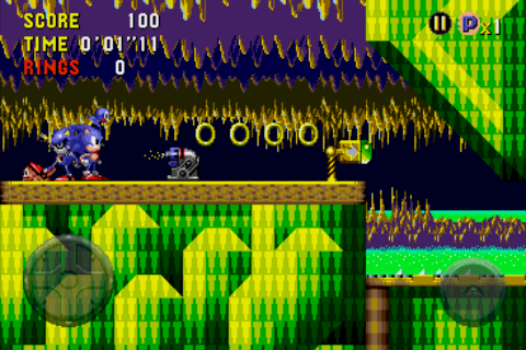 Sonic CD Android Metal Sonic!?