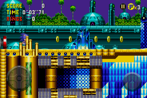 Sonic CD Android The quartz city...