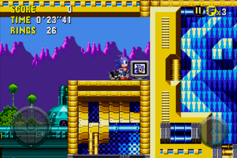 Sonic CD Android Extra life