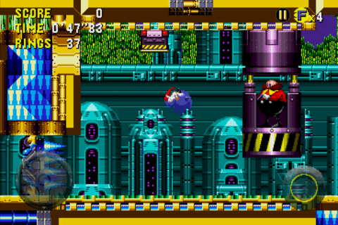 Sonic CD Android Eggman's latest contraption