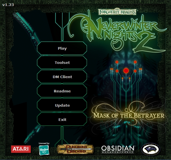 Neverwinter Nights 2: Gold Windows loading screen