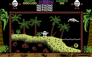 Treasure Island Dizzy Commodore 64 Starting Screen - Take it back to '89..