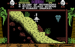Treasure Island Dizzy Commodore 64 Under the sea - Yeah, 1989, baby!