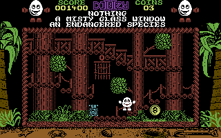Treasure Island Dizzy Commodore 64 Watch out for the traps.