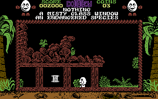 Treasure Island Dizzy Commodore 64 A mine.