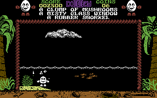 Treasure Island Dizzy Commodore 64 Under the sea!