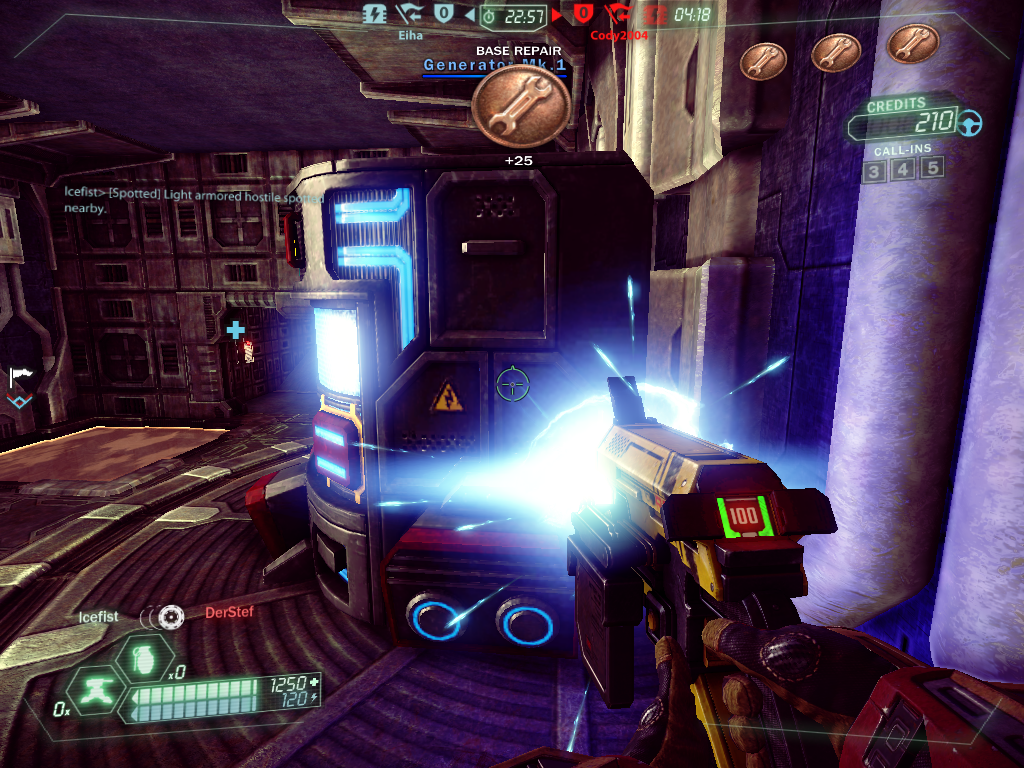 Tribes: Ascend Windows Repairing the generator