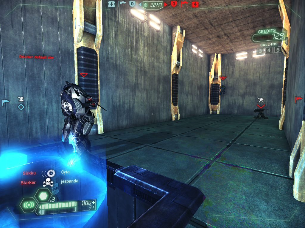 Tribes: Ascend Windows Infiltrators can cloak to avoid enemies attention