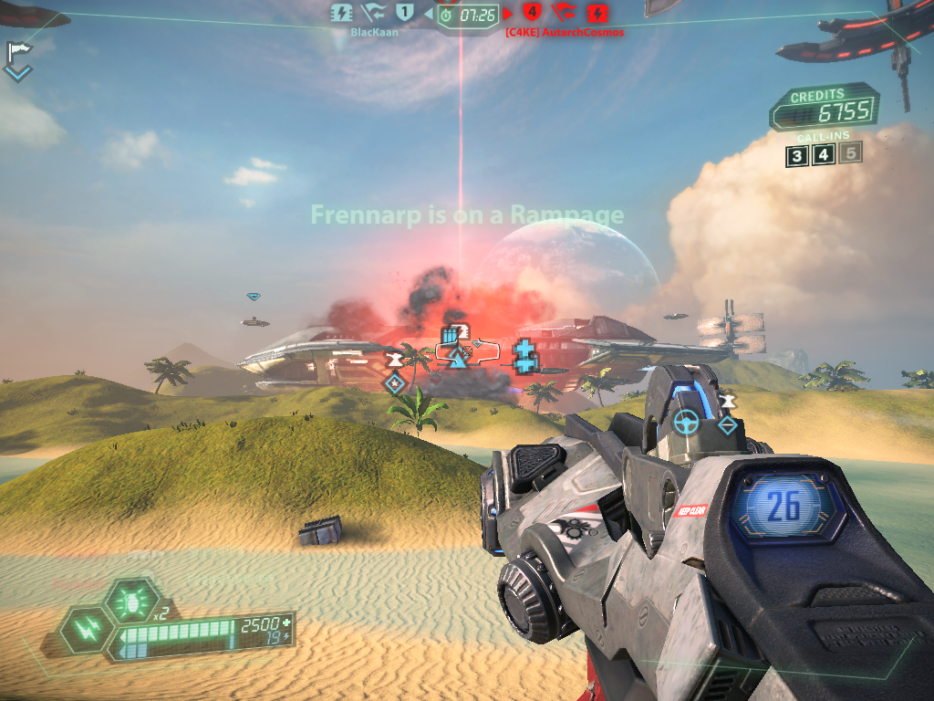 Tribes: Ascend Windows An orbital strike