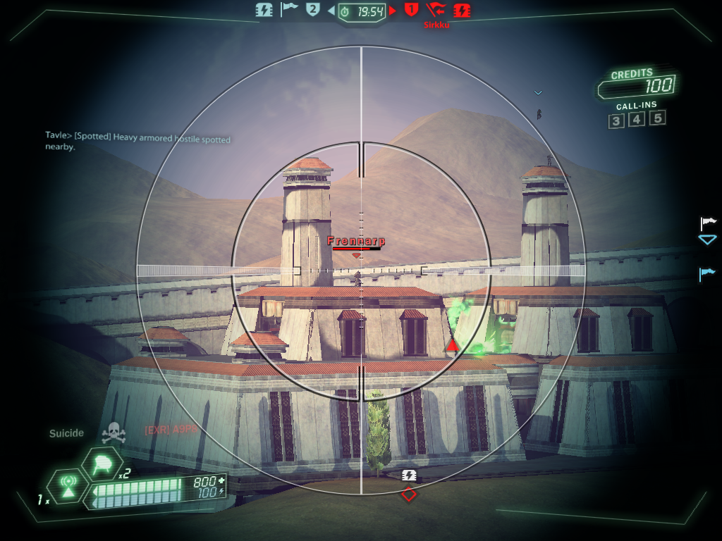 Tribes: Ascend Windows The sentinel is the game's sniper class