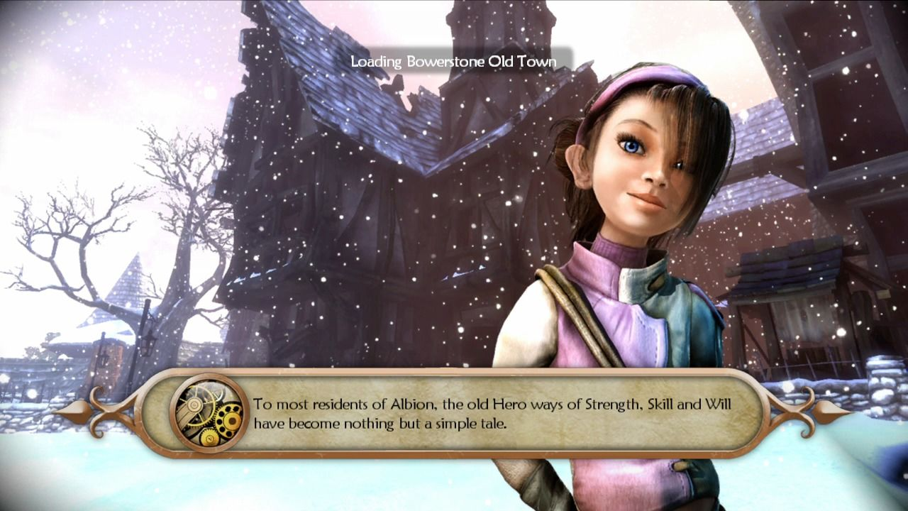 Fable II Xbox 360 Loading screen always displays the place you are currently visiting.