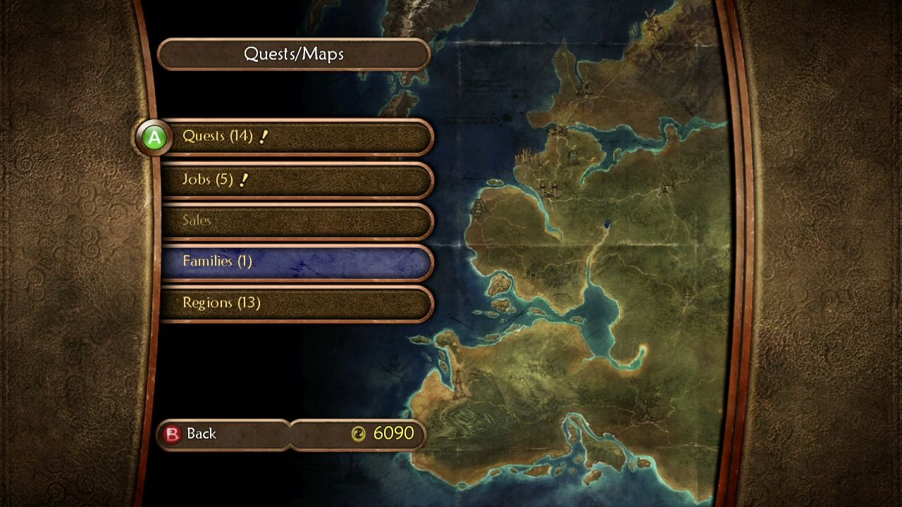 Fable II Xbox 360 Quests and maps.