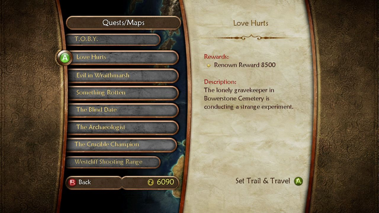 Fable II Xbox 360 Difficult quests will earn you more experience points.