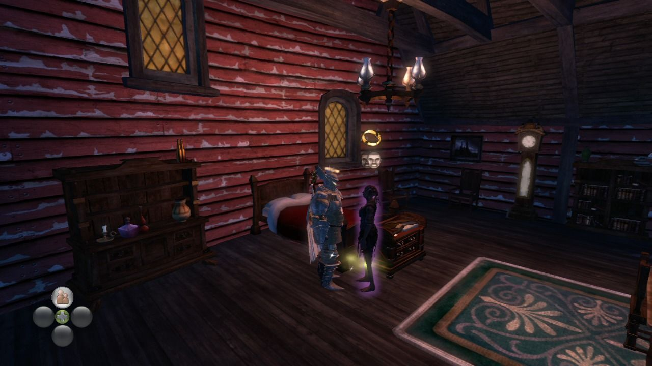 Fable II: Knothole Island Xbox 360 Your own place in Knothole Island with your wife beside you.