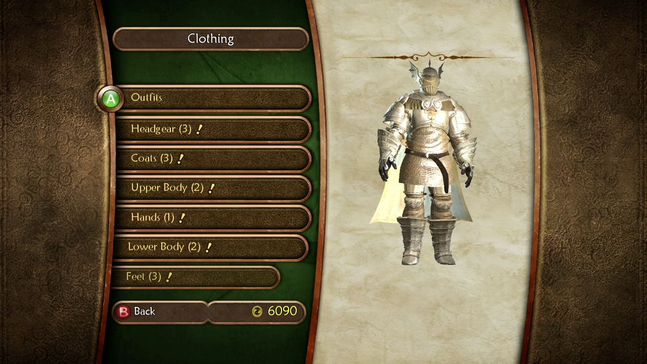 Fable II: Knothole Island Xbox 360 Special knight armor can be acquired after you finish all the quests on the Knothole Island.