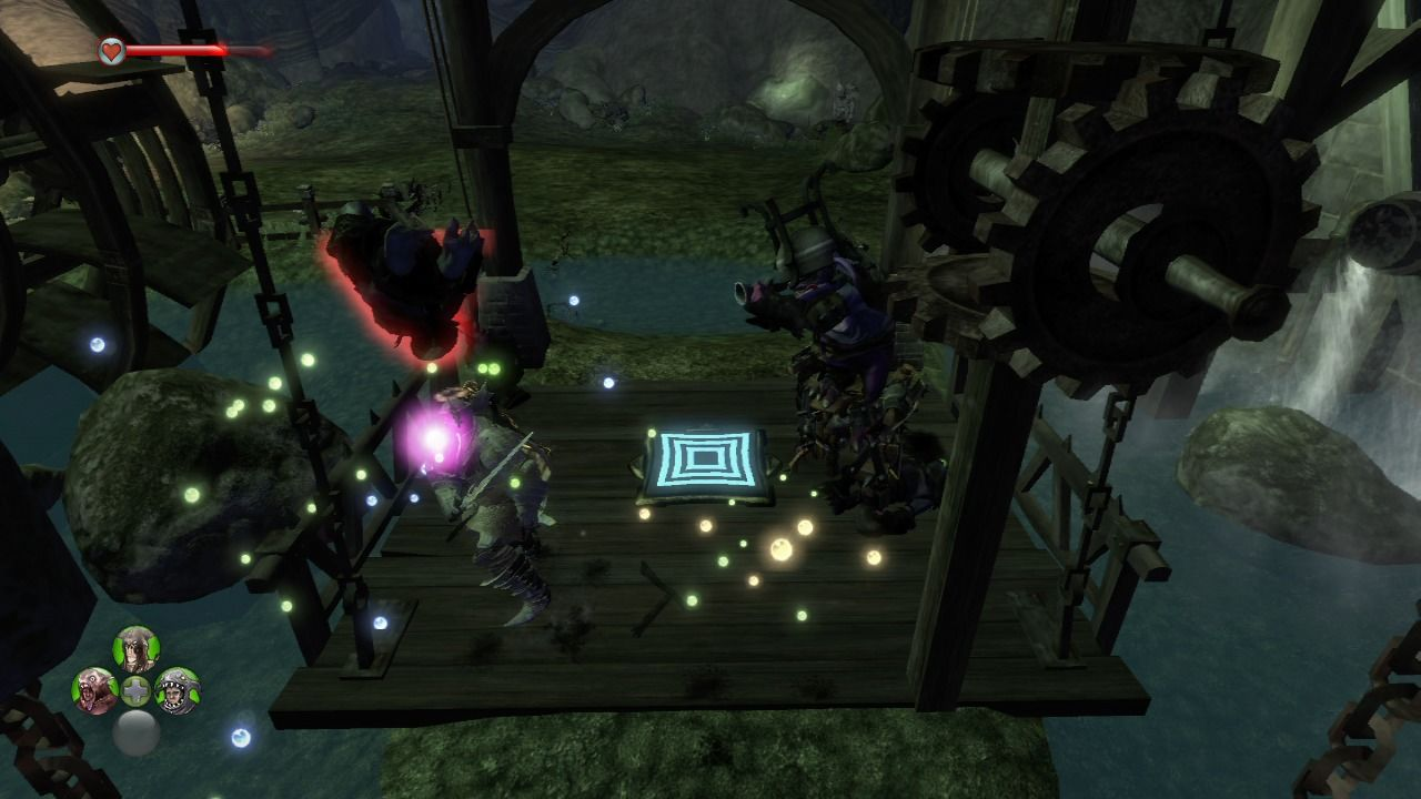 Fable II: See the Future Xbox 360 Entering mysterious cave through one of the crypts.