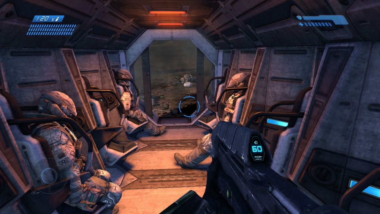 Halo: Combat Evolved Anniversary Xbox 360 Crashed in an escape pod (remake).
