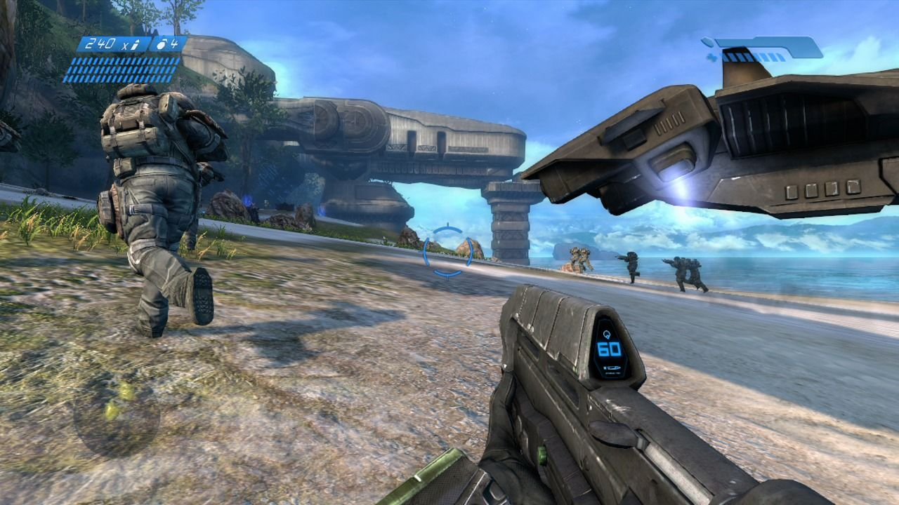 Halo: Combat Evolved - Anniversary Xbox 360 The landing (remake).