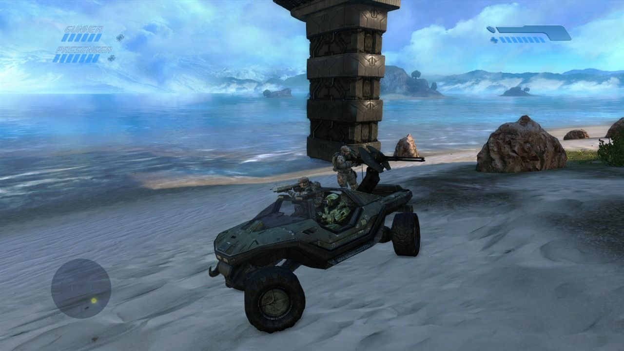 Halo: Combat Evolved - Anniversary Xbox 360 The warhog (remake).
