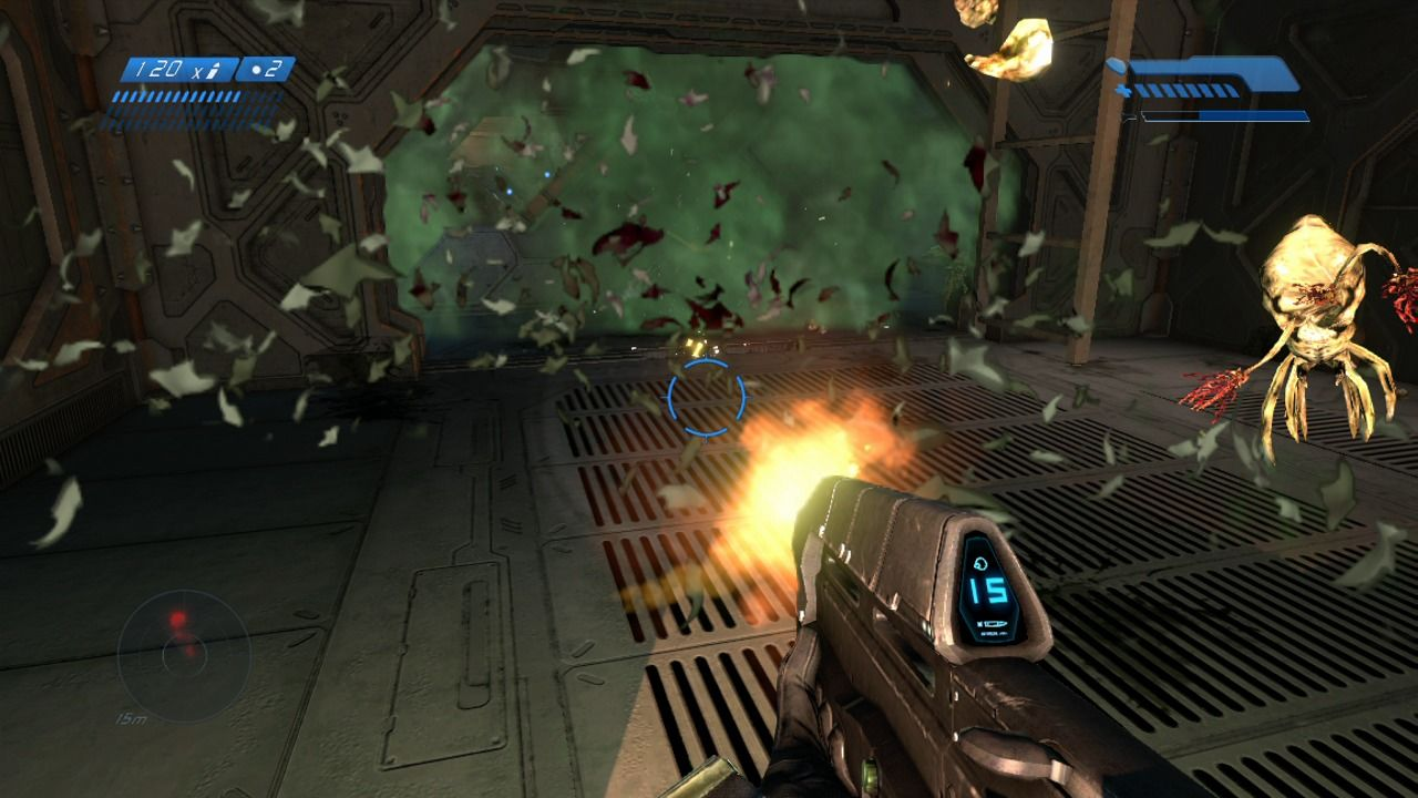 Halo: Combat Evolved - Anniversary Xbox 360 There are aliens, and then there are aliens, and then there are aliens... and they will all attack you.