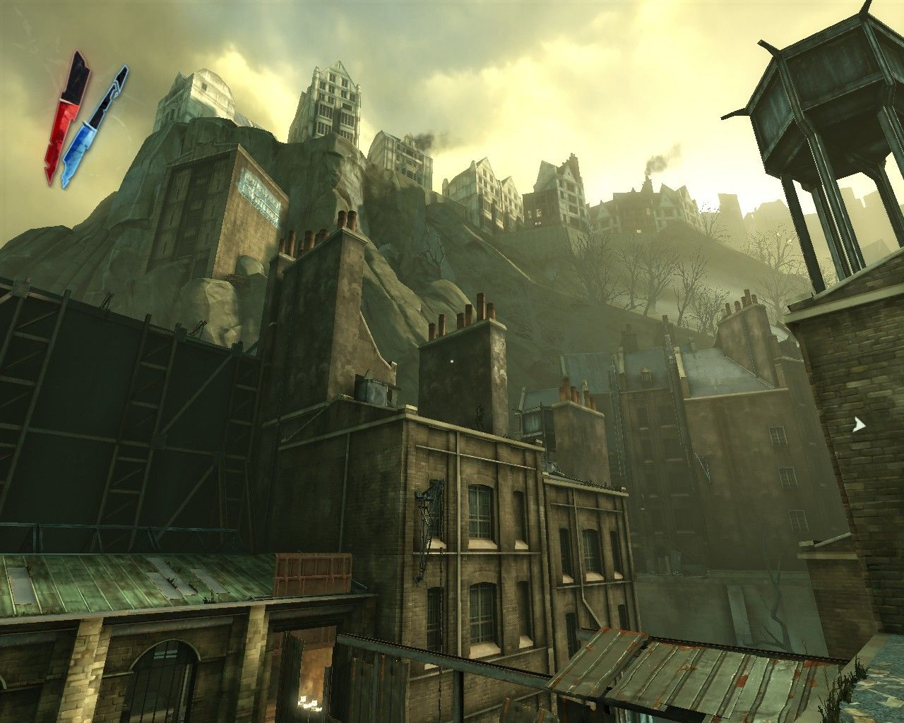 Dishonored Windows And sometimes it's sickeningly beautiful