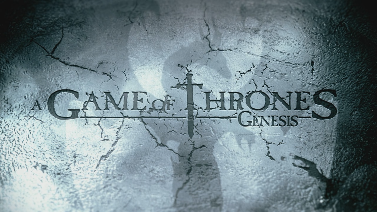 A Game of Thrones: Genesis Windows Title screen