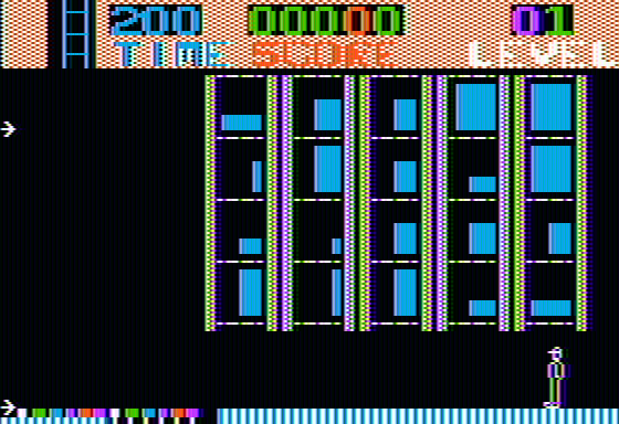 Highrise Apple II Starting out