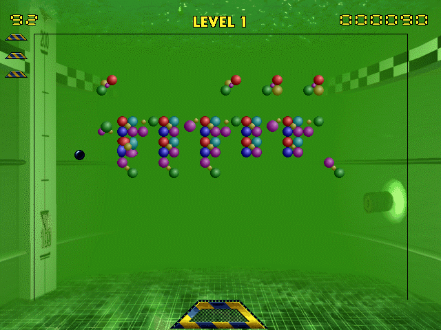 Arcade Mania Windows 3.x Neutrino: Well, it's <i>Breakout</i>.