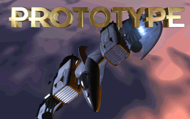 Prototype DOS Title screen (CD-ROM version)