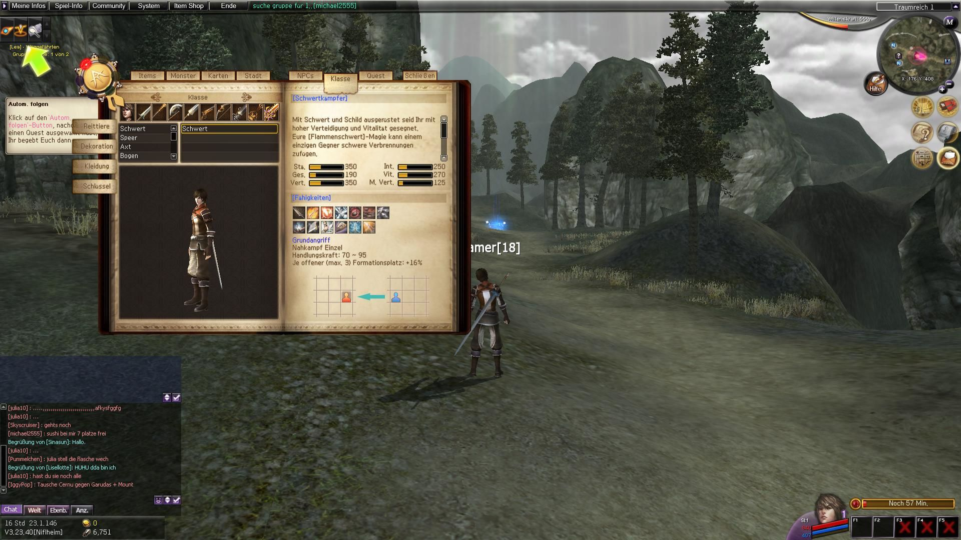 Atlantica Online Windows The in-game encyclopedia.