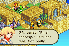 Final Fantasy Tactics Advance Game Boy Advance Look who is talking now :)