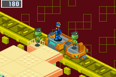 Mega Man Battle Network 3: Blue Version Game Boy Advance Train?