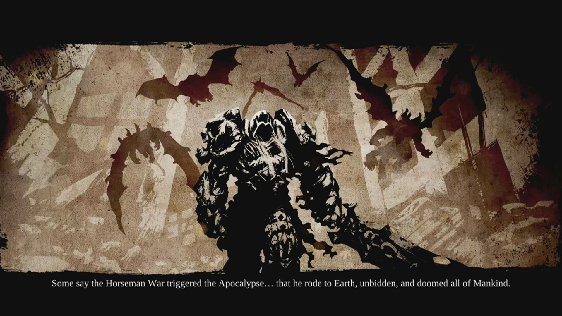 Darksiders II Xbox 360 Screen from the introduction