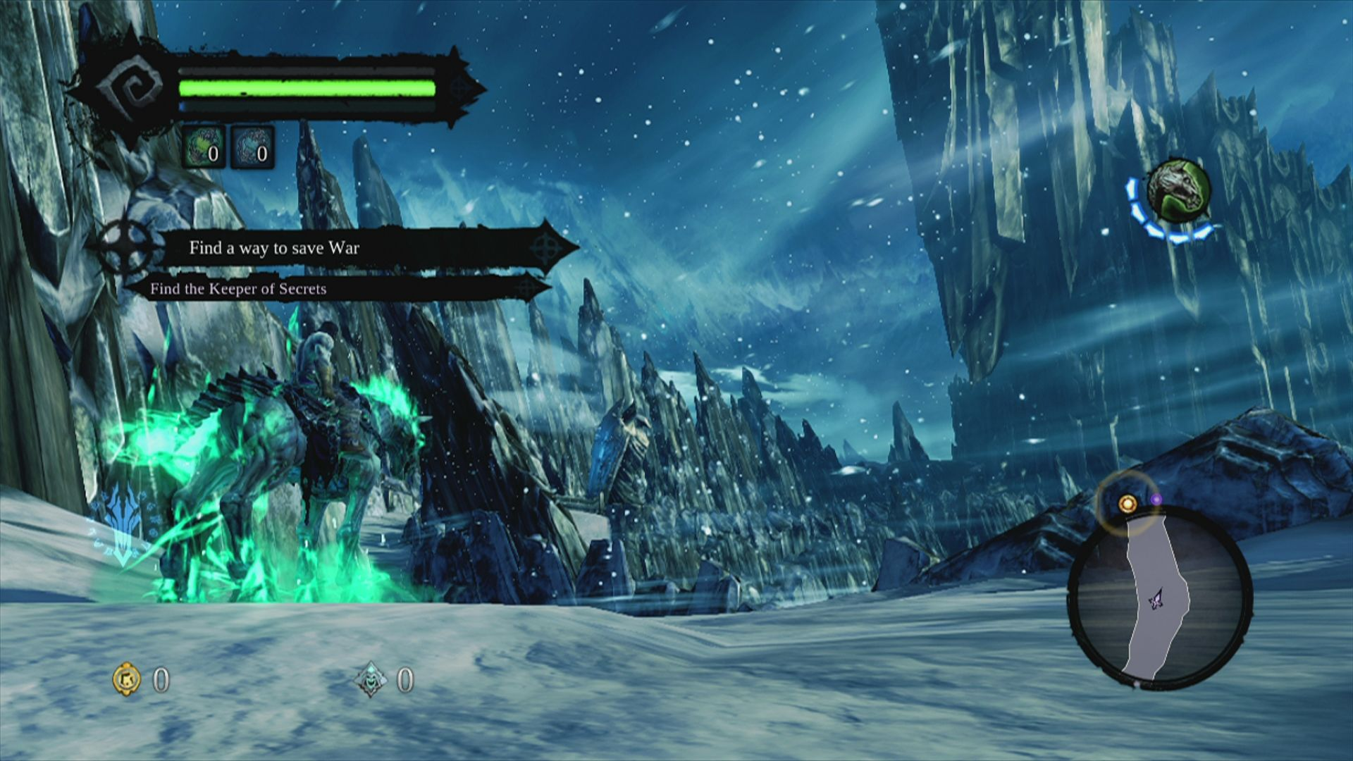 Darksiders II Xbox 360 The prologue also acts as a tutorial