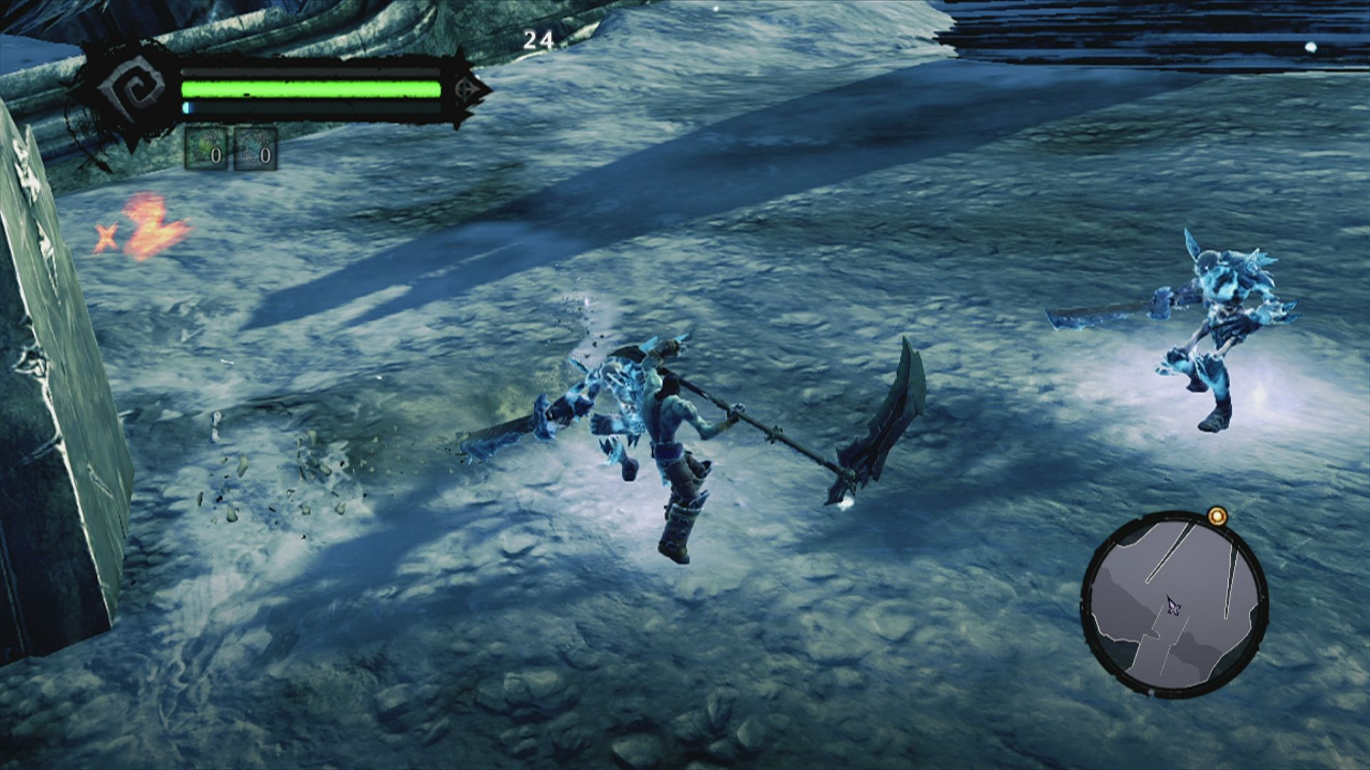 Darksiders II Xbox 360 ... you will use the scythe