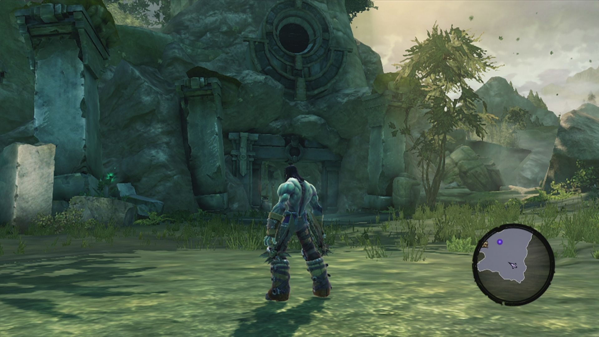 Darksiders II Xbox 360 Now the game begins for real in a different location