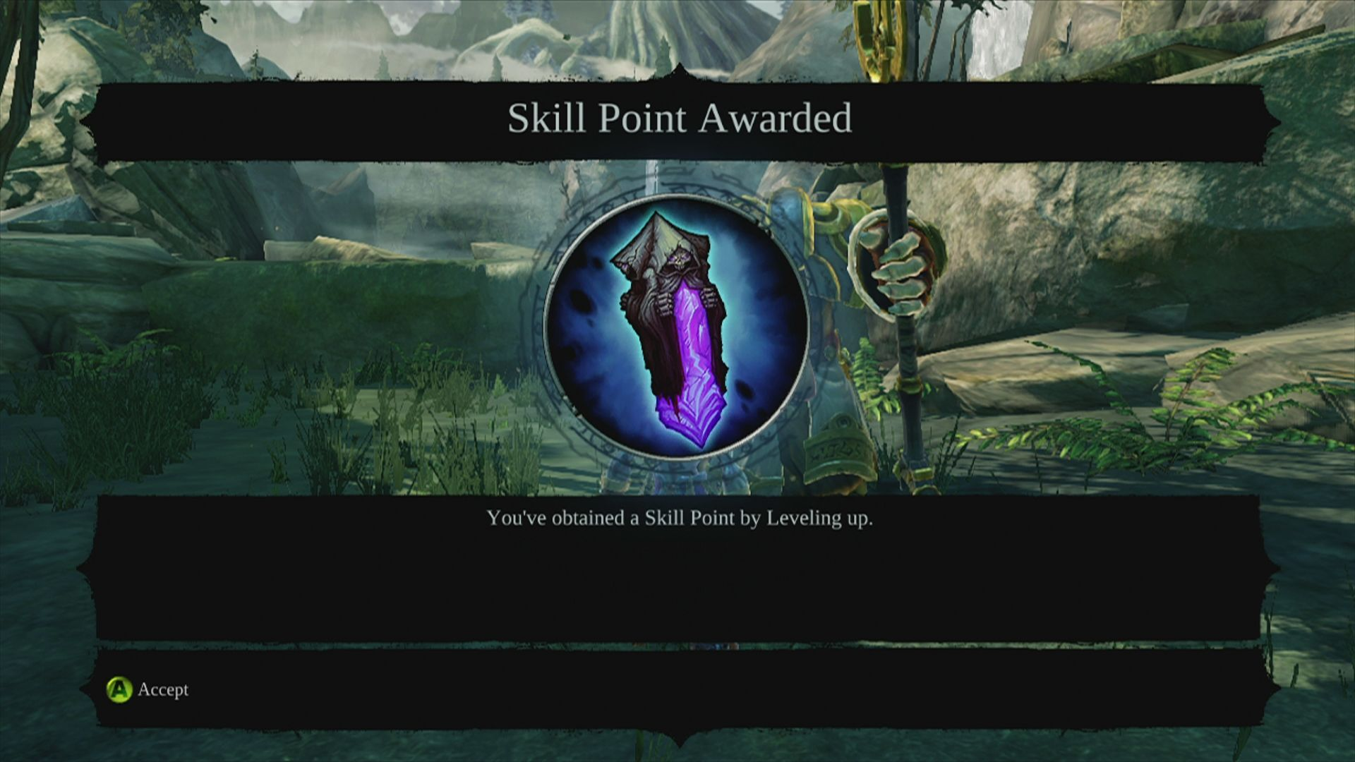 Darksiders II Xbox 360 Skill points are needed to master the skill trees