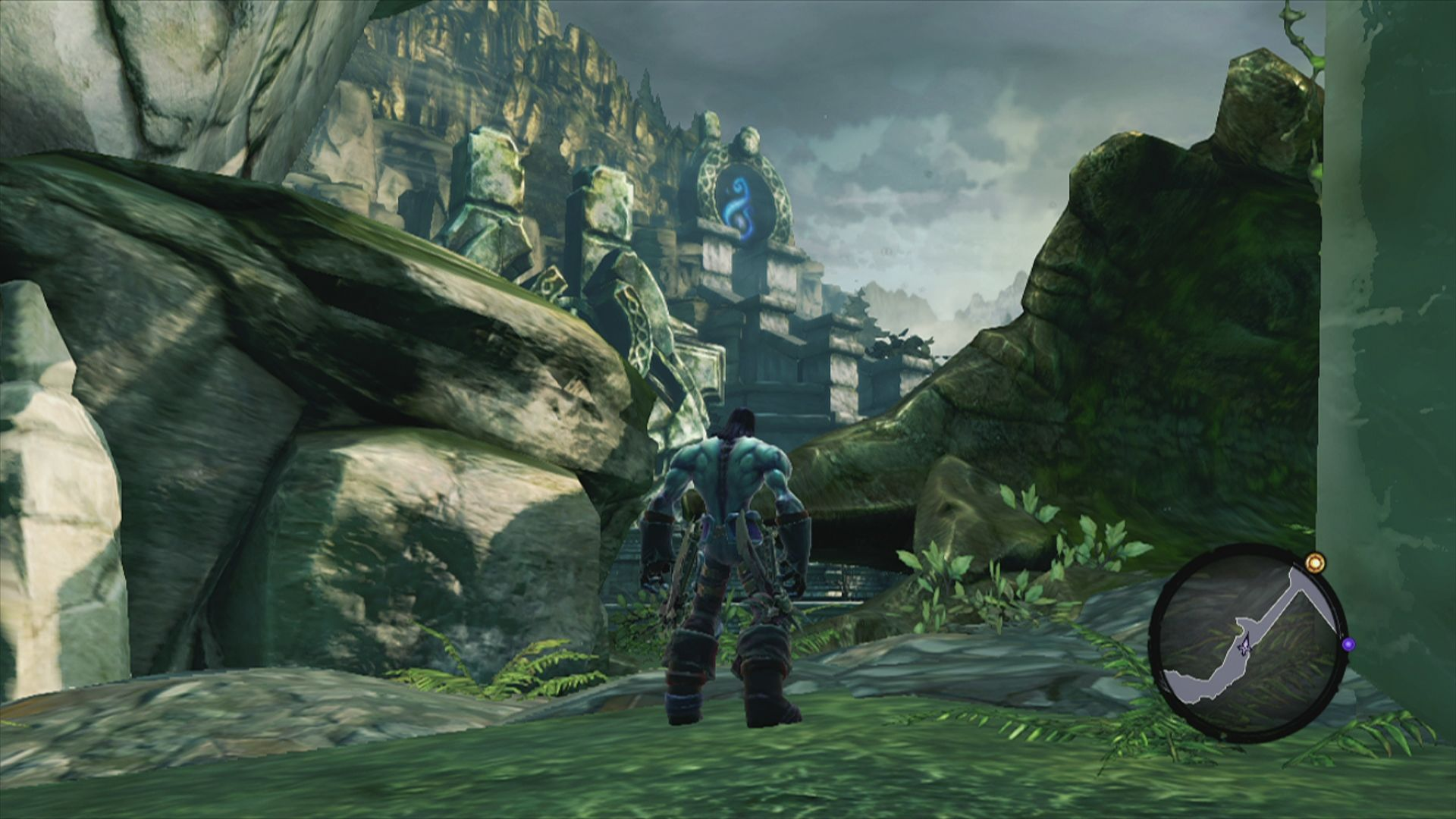 Darksiders II Xbox 360 This structure in the distance looks quite interesting