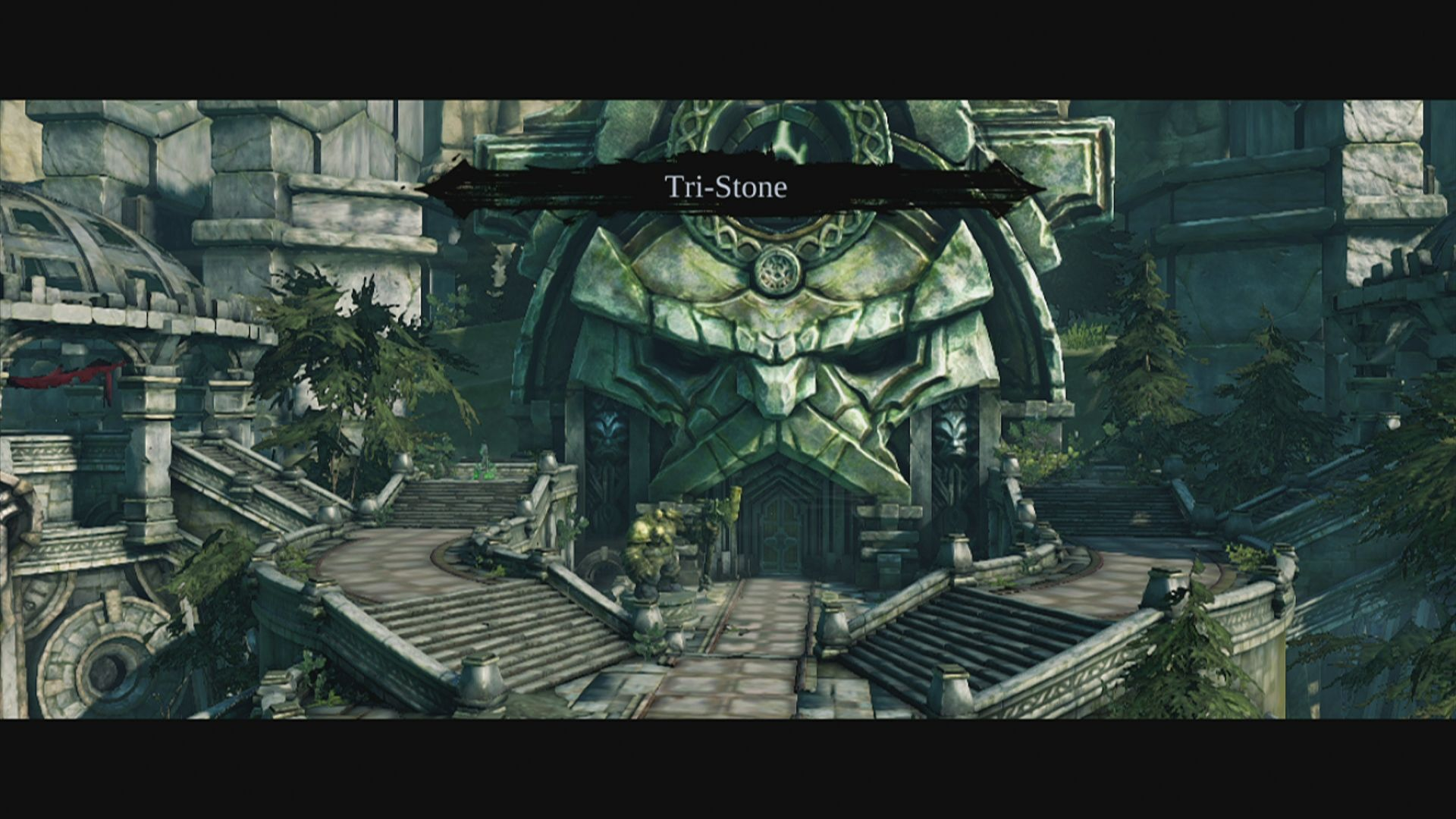 Darksiders II Xbox 360 Welcome to Tri-Stone, the first major hub in your adventure
