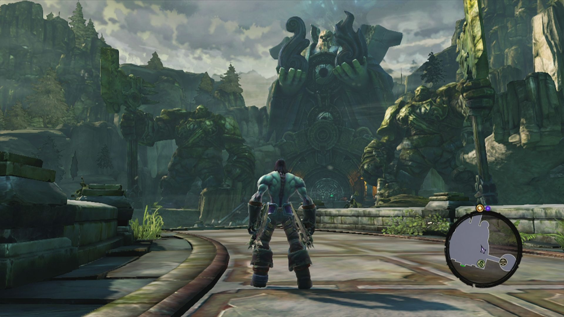 Darksiders II Xbox 360 Looks like dwarven architecture .... too bad there are no dwarves in this game