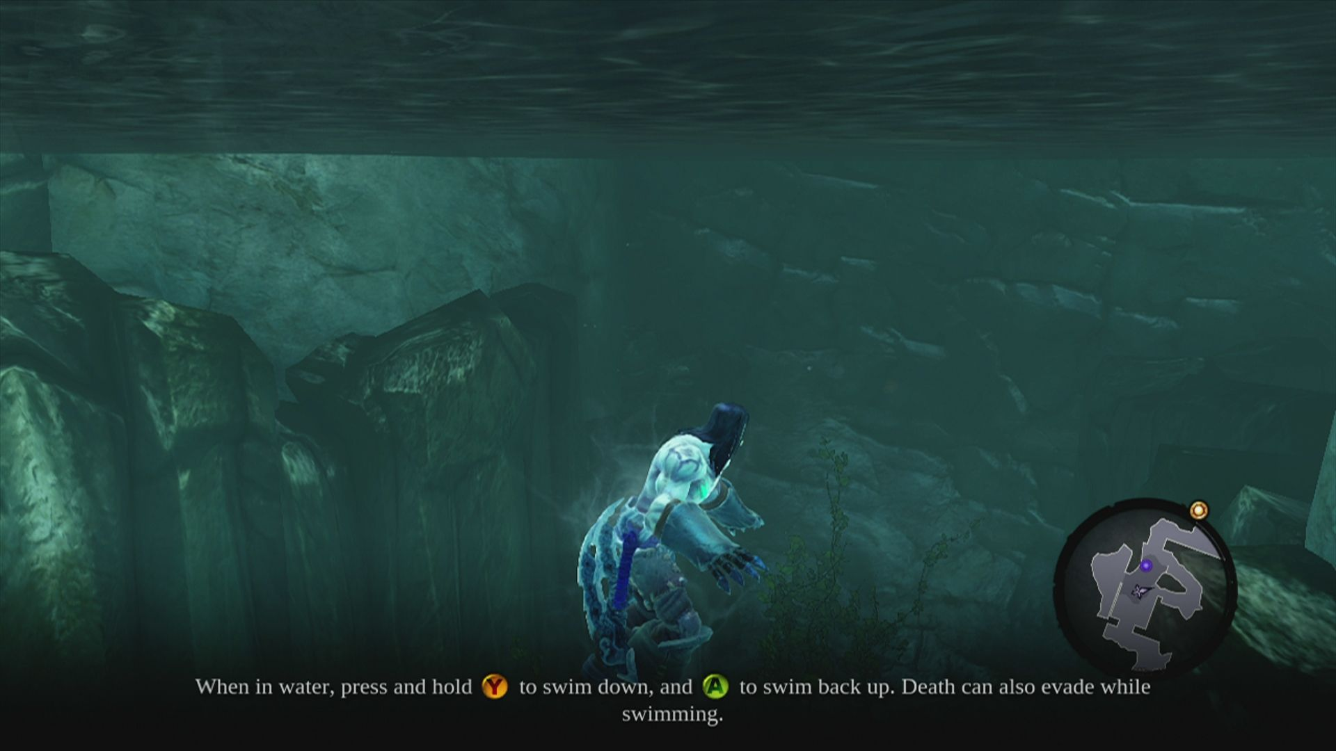 Darksiders II Xbox 360 You can also swim and dive in the game