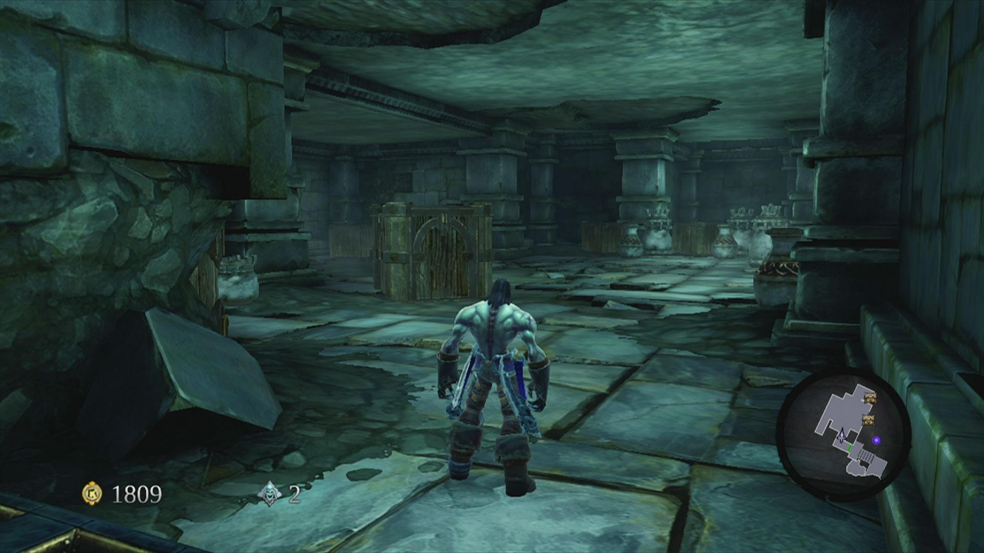 Darksiders II Xbox 360 Smash the stuff to reveal items and enemies