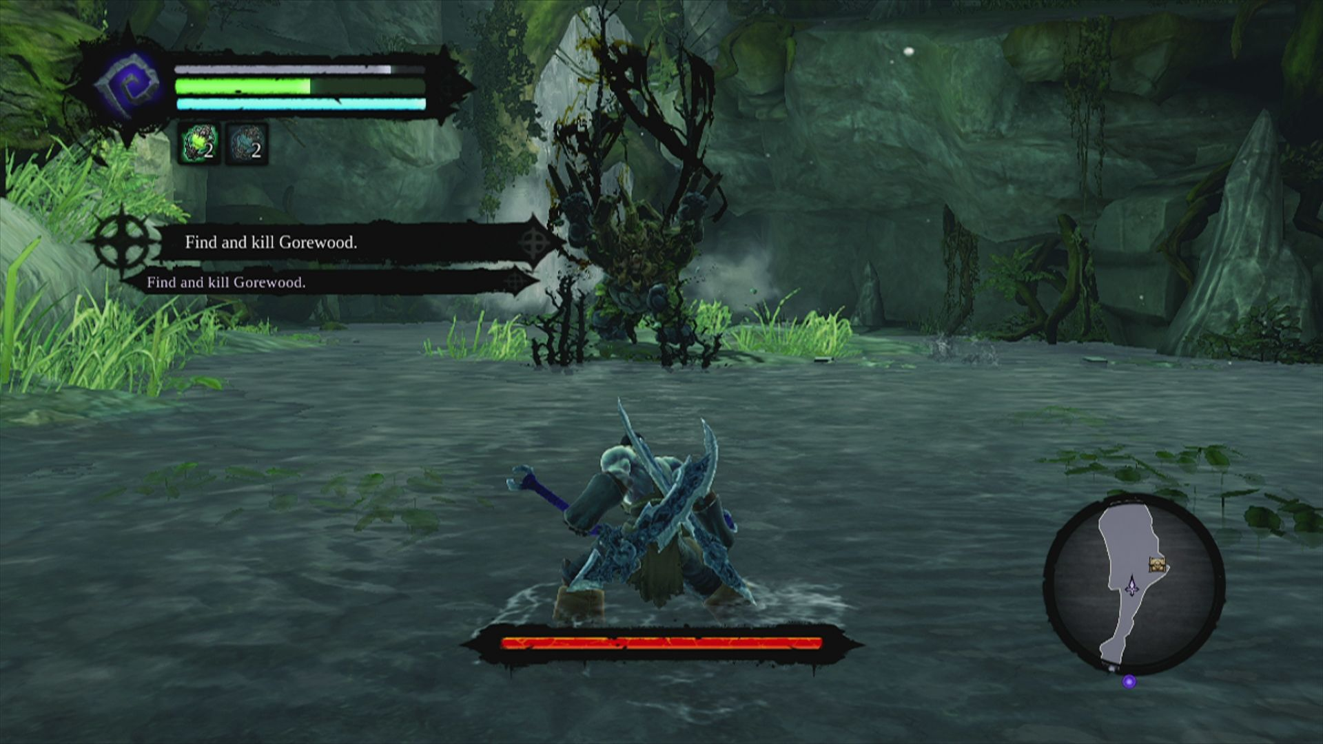 Darksiders II Xbox 360 another Miniboss