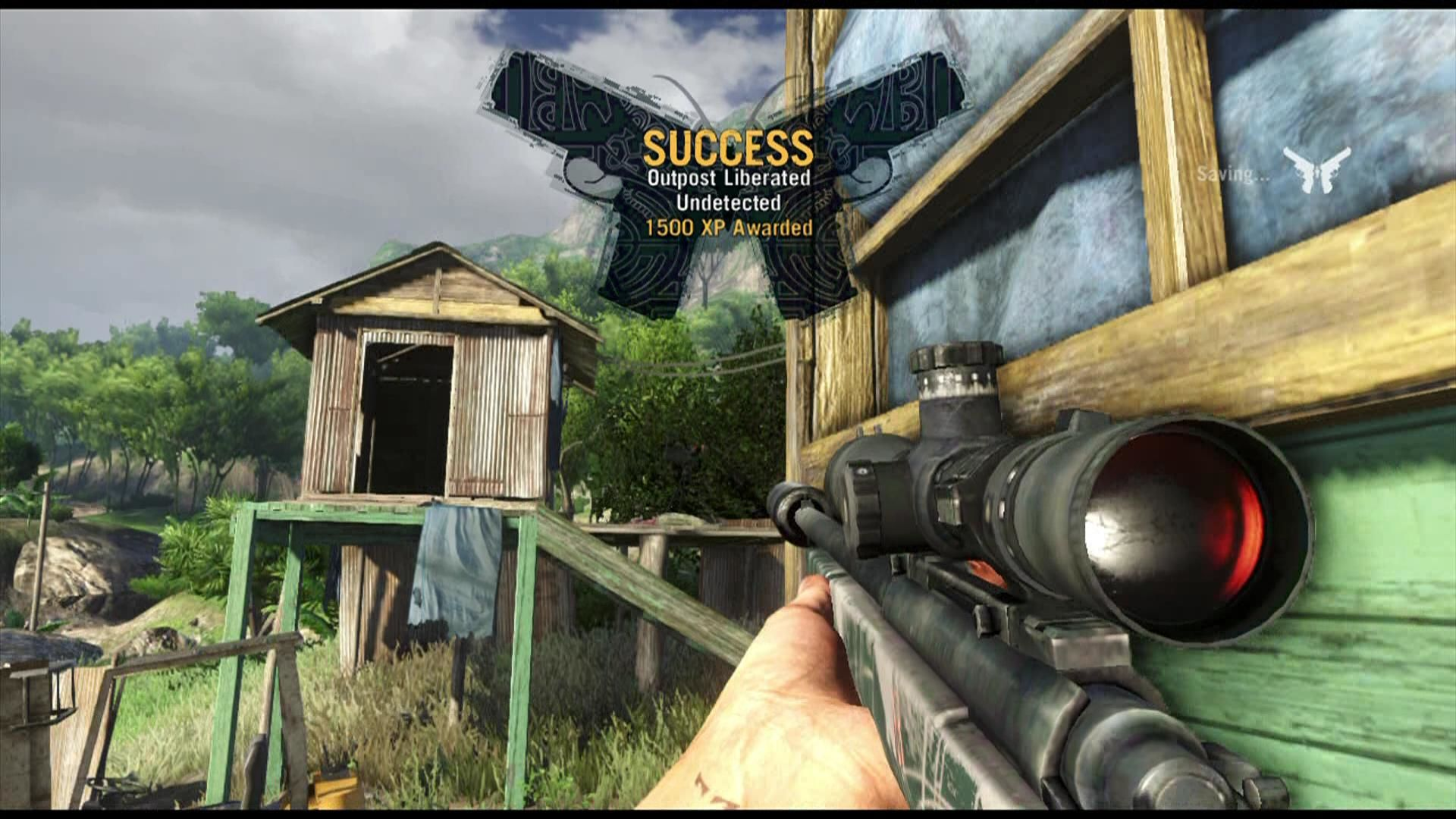 Far Cry 3 Xbox 360 Liberating outpost nets you experience