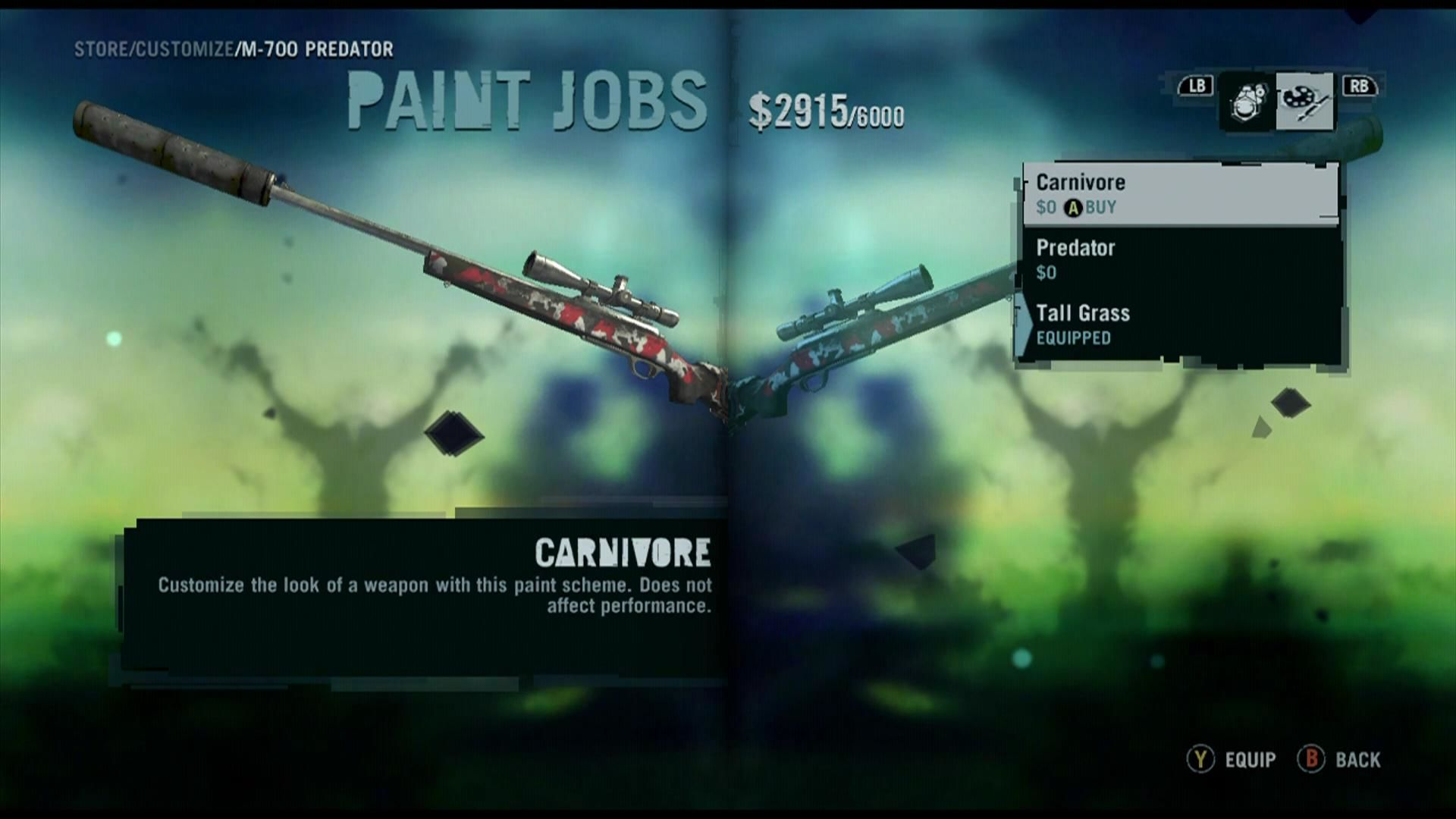 Far Cry 3 Xbox 360 Weapons can be upgraded and painted