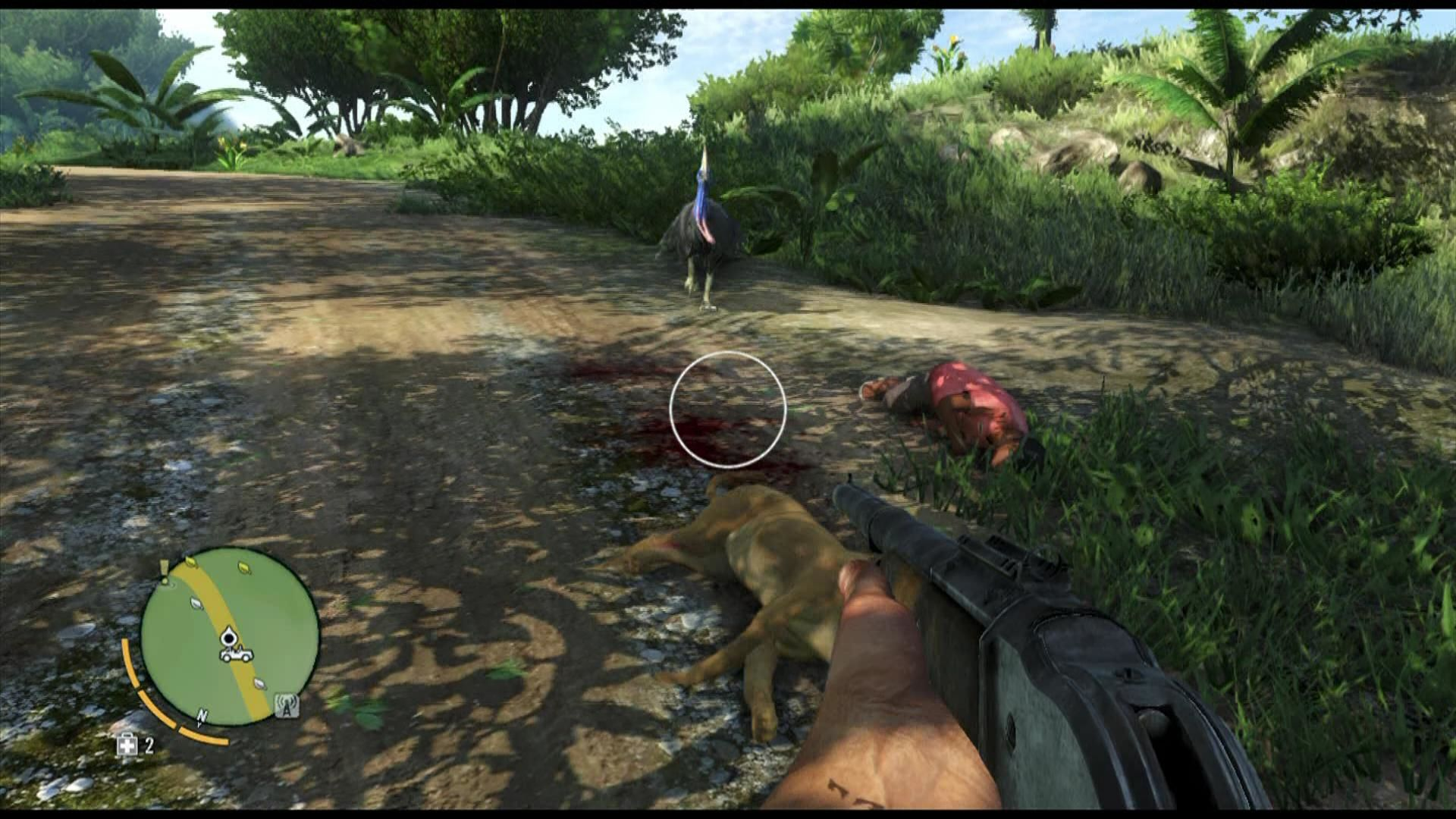 Far Cry 3 Xbox 360 ... you will be attacked by wild animals, even big birds.