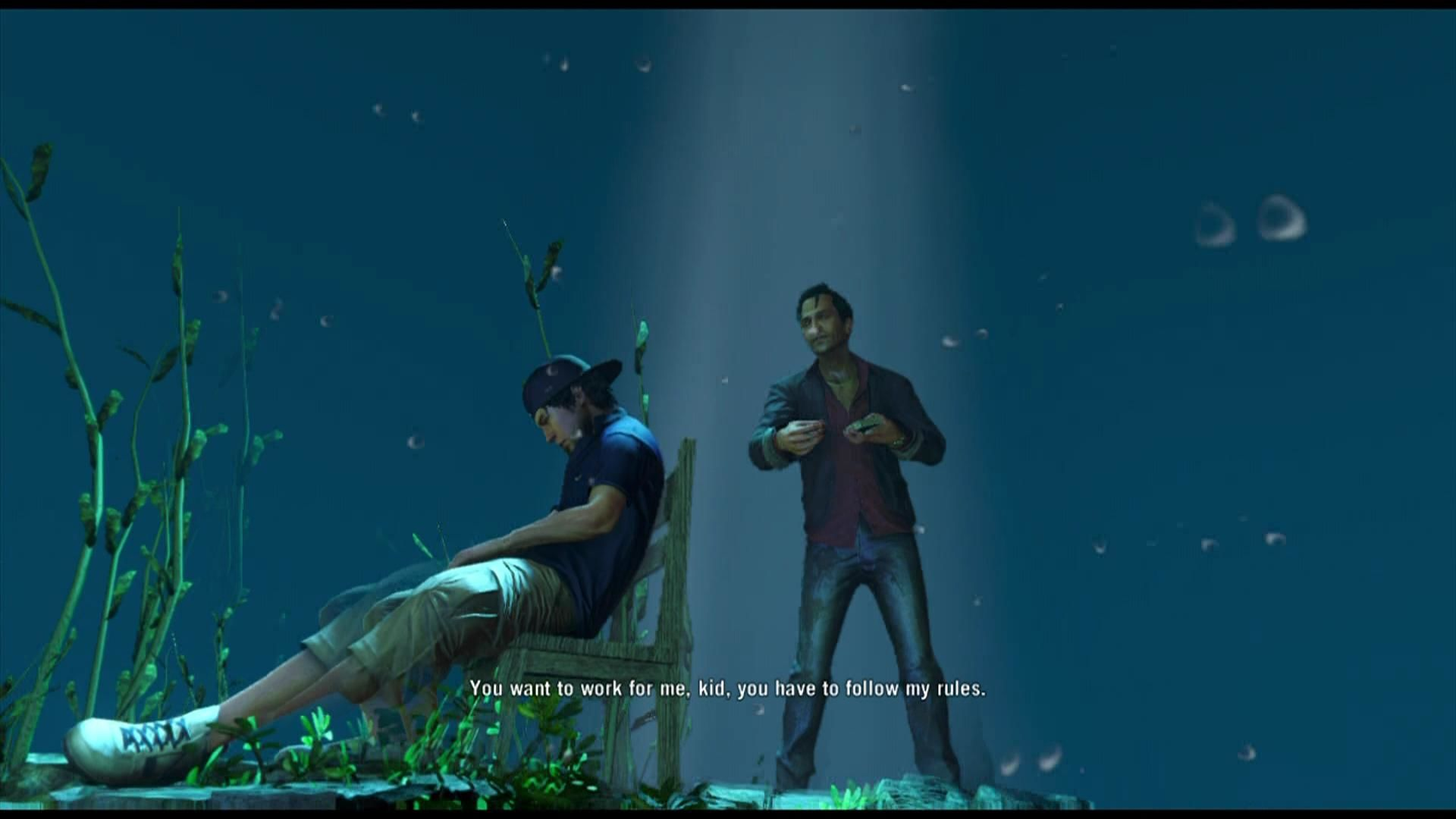 Far Cry 3 Xbox 360 Drugs are used sometimes in the game, which result in weird dream sequences