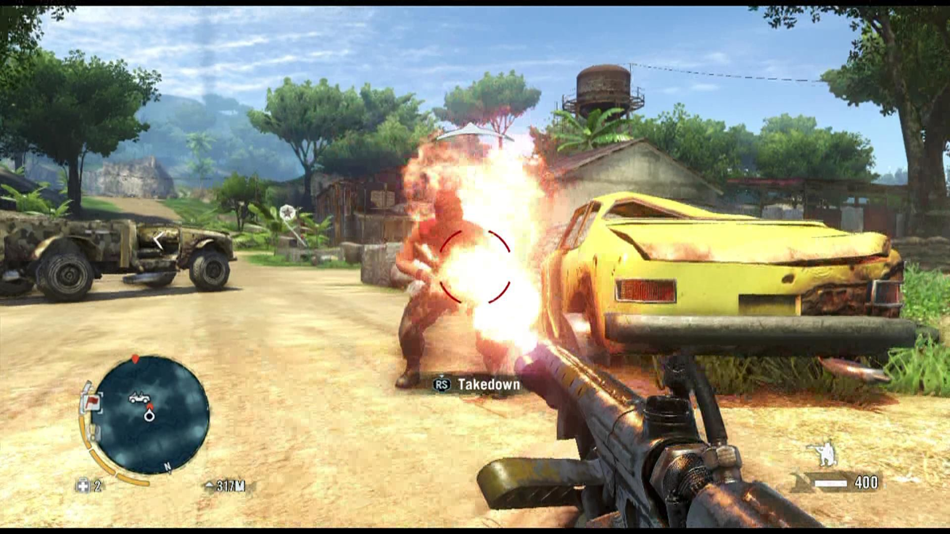 Far Cry 3 Xbox 360 Take the heat to the enemy