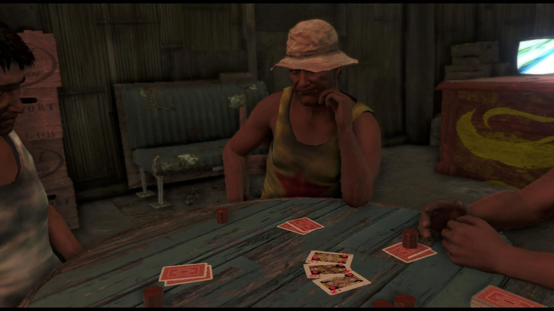 Far Cry 3 Xbox 360 You can play poker as a minigame